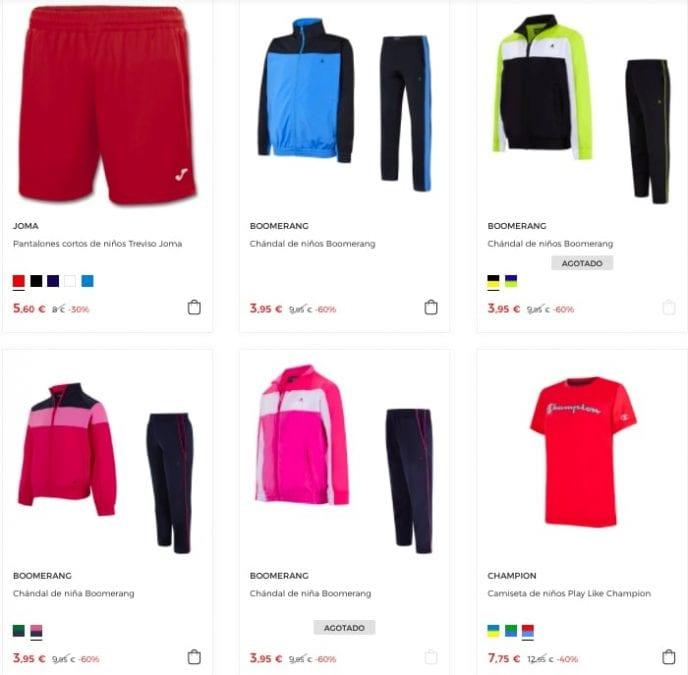 ropa deportiva SuperChollos