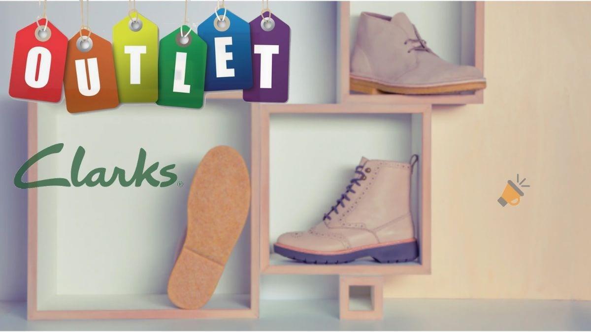 Adaptar restaurante Investigación  OUTLET CLARKS! Hasta 60% DTO. en calzado de hombre, mujer y niño