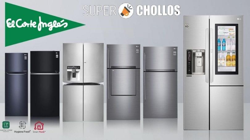 corte ingles frigorificos baratos SuperChollos