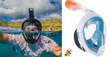 Ma%CC%81scara de snorkel Easybreath barata SuperChollos