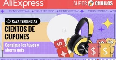 cupones aliexpress trend spotting sale SuperChollos