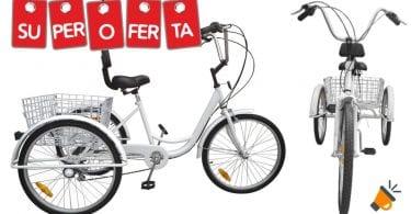 oferta Triciclo para adultos Paneltech barato SuperChollos