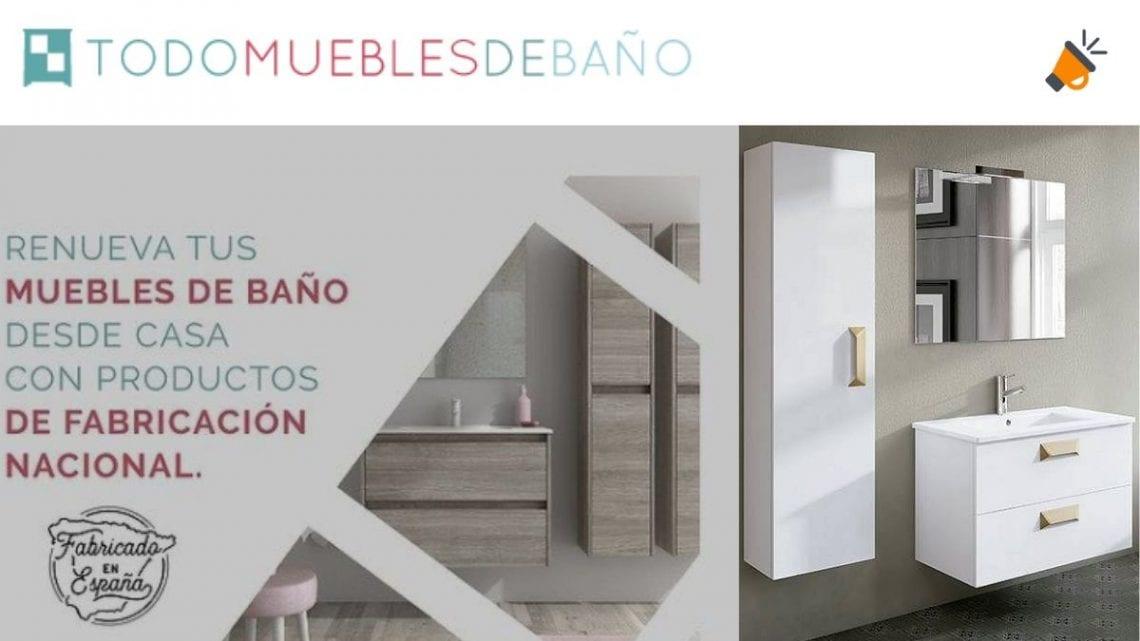 Ofertas en muebles de baño baratos con hasta 30% DTO.