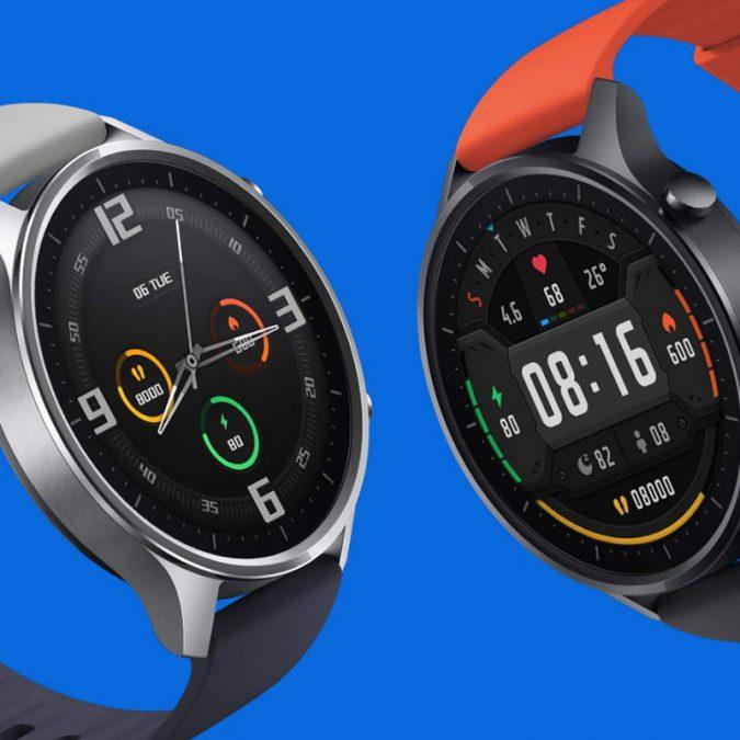 De moda reloj inteligente Xiaomi Color NFC 1 39 AMOLED GPS rastreador de Fitness 5ATM impermeable SuperChollos