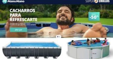 piscinas baratas manomano SuperChollos
