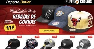 oferta gorras de la NHL y la NBA baratas SuperChollos