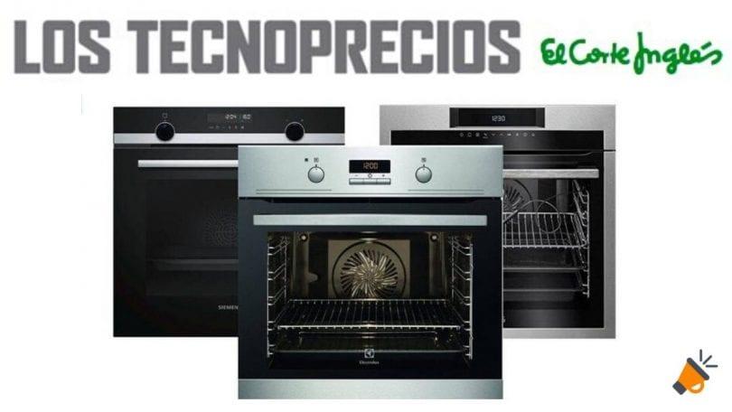 corte ingles hornos cocina baratos SuperChollos
