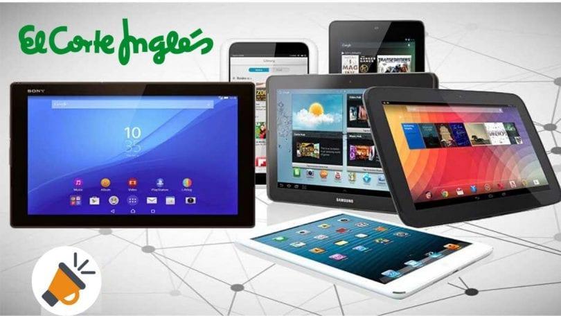 corte ingles tablets baratas SuperChollos