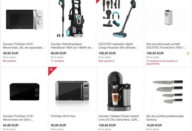 ofertas outlet cecotec ebay superchollos SuperChollos