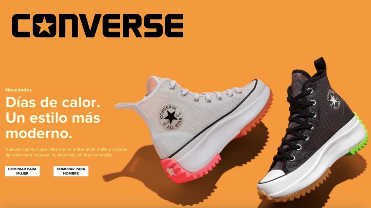 huevo móvil Ofensa  Run Star Hike: las nuevas zapatillas de plataforma de Converse