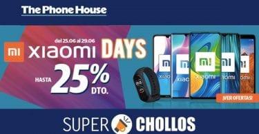 xiaomi days phone house SuperChollos