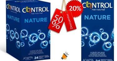 oferta preservativos Control Nature baratos SuperChollos