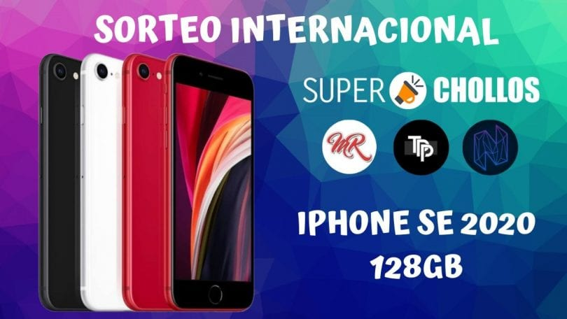 sorteo internacional iphone se 2020 128gb superchollos SuperChollos