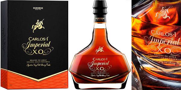 Brandy Carlos I Imperial Solera Gran Reserva barato SuperChollos