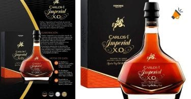 oferta Brandy Carlos I Imperial Solera Gran Reserva barato SuperChollos