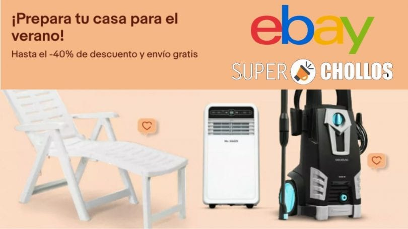ofertas ebay terraza y jardin SuperChollos