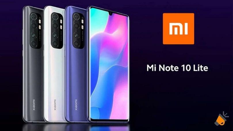 oferta Xiaomi Mi Note 10 Lite barato SuperChollos