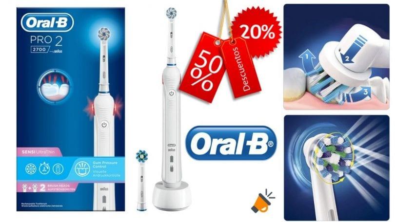 oferta Oral B Pro 2 2700 barato SuperChollos