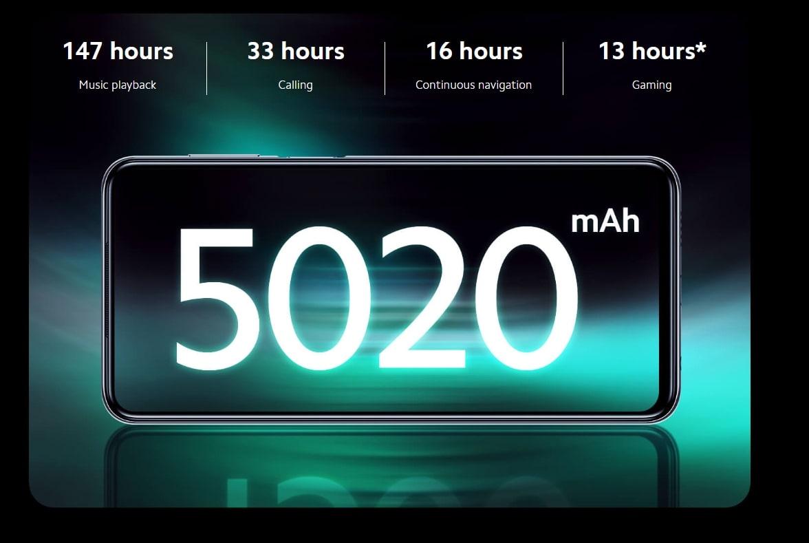 redmi note 9s bateria 5020mah 18w carga rapida SuperChollos