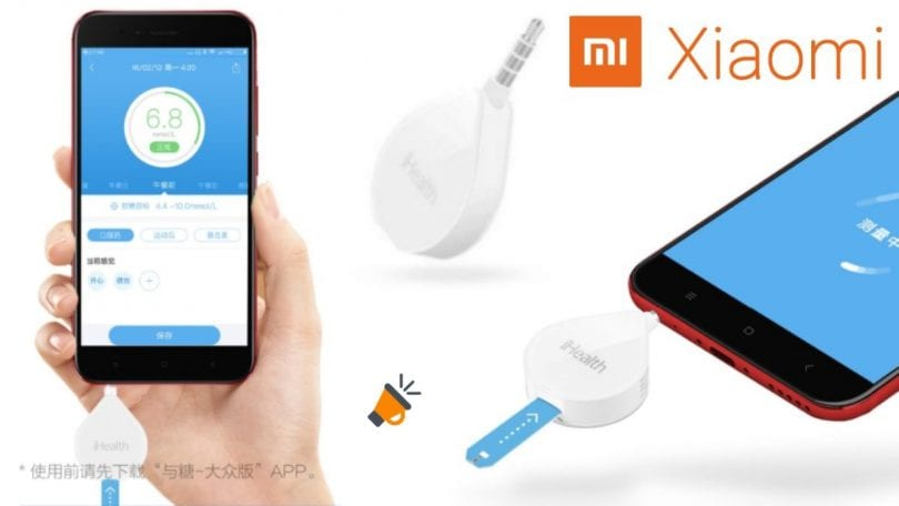 oferta Gluco%CC%81metro Xiaomi iHealth barato SuperChollos