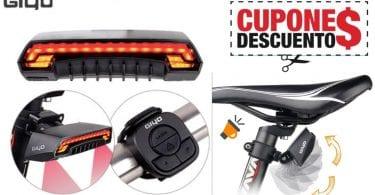 OFERTA Luz de bicicleta USB recargable BARATA SuperChollos