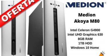 oferta MEDION AKOYA M80 barata SuperChollos