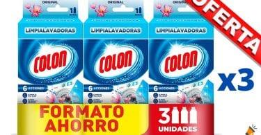 oferta Colon Limpialavadoras barato SuperChollos