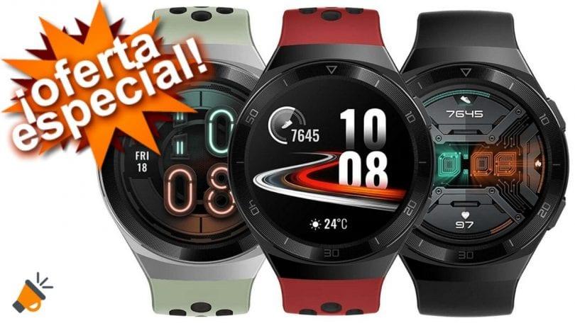 oferta reloj Huawei GT2e barato SuperChollos