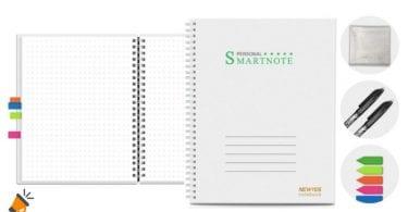 oferta Cuaderno inteligente Newyes A4 barato SuperChollos