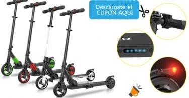 oferta Patinete ele%CC%81ctrico inteligente iScooter barato SuperChollos