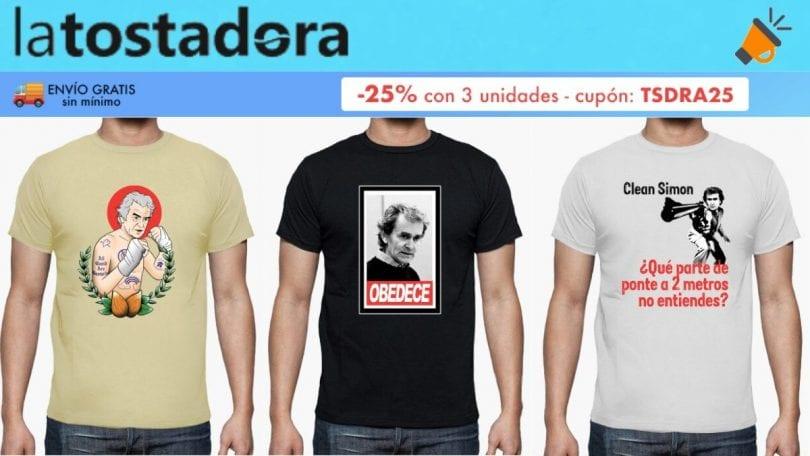 oferta Camisetas Fernando Simo%CC%81n baratas SuperChollos