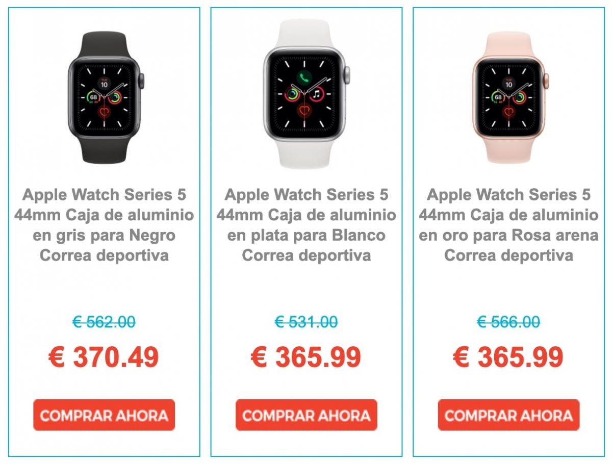 Ofertas Apple Watch Series 5 eglobalcentral 2 scaled SuperChollos