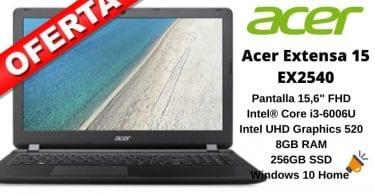 oferta Acer Extensa 15 EX2540 barato SuperChollos