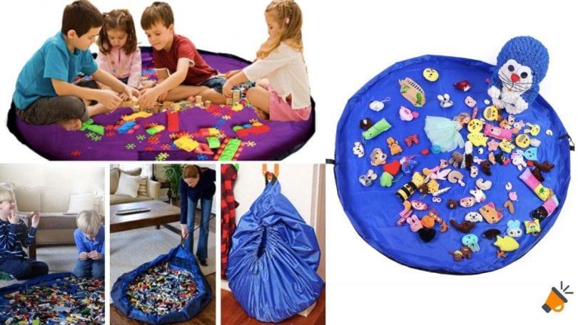 oferta alfombra %E2%80%93 saco para juguetes barata SuperChollos