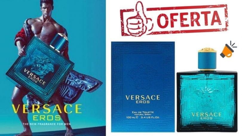 oferta Versace Eros colonia barata SuperChollos