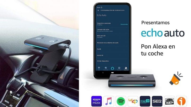 OFERTA Echo Auto BARATO SuperChollos