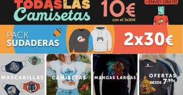 ofertas camisetas pampling SuperChollos