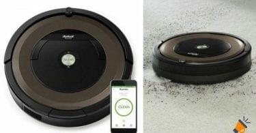 oferta Robot aspirador Roomba 896 barato SuperChollos