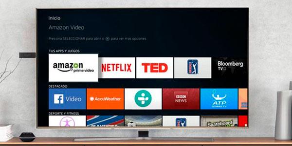 reproductor contenido multimedia amazon fire tv stick alexa oferta SuperChollos