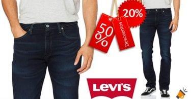 oferta vaqueros Levis 511 Slim Fit baratos SuperChollos