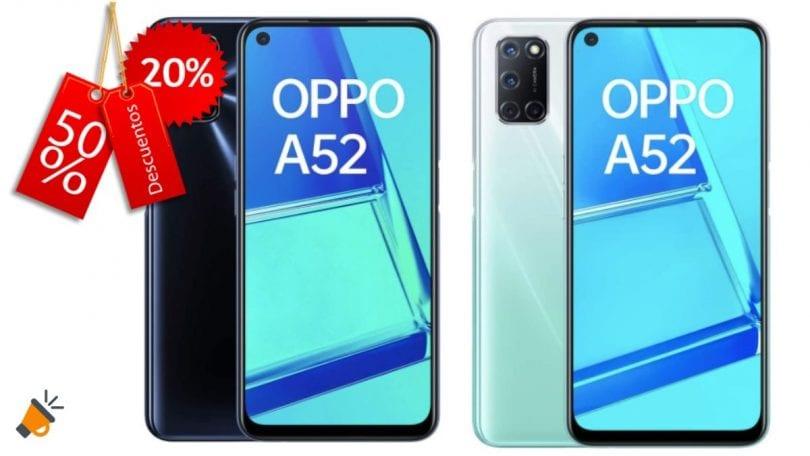oferta OPPO A52 barato SuperChollos
