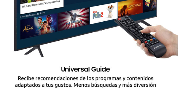 Smart TV Samsung 50TU7105 barata SuperChollos