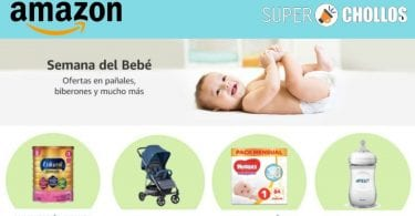 amazon semana bebe SuperChollos