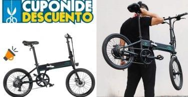 oferta bicicleta ele%CC%81ctrica Fiido D4S barata SuperChollos