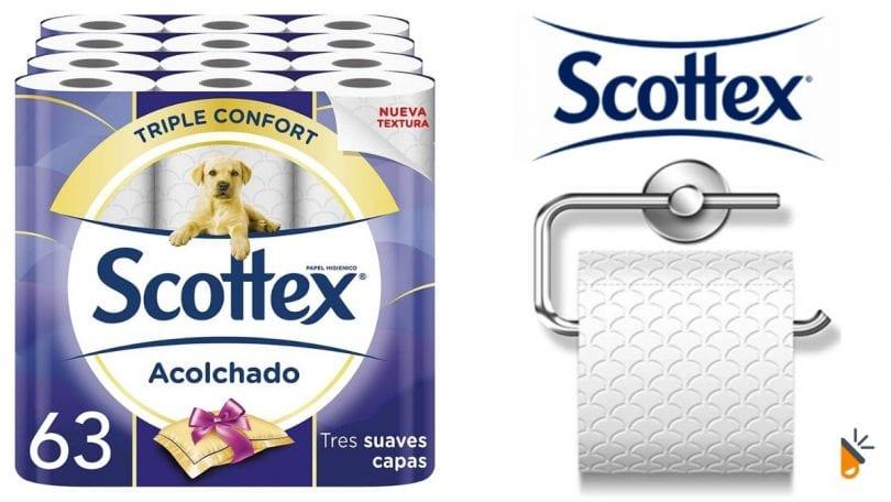 oferta papel higienico scottex barato SuperChollos