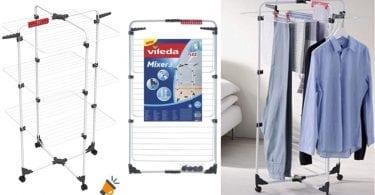 oferta Vileda Mixer 3 Tendedero vertical barato SuperChollos