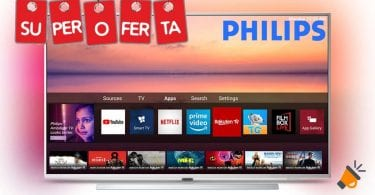 oferta Philips 55PUS6804 smart tv barata SuperChollos