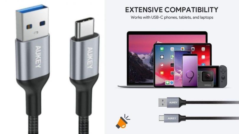 oferta AUKEY Cable USB barato SuperChollos