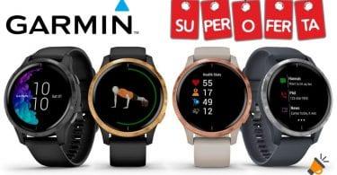 oferta Garmin Venu Reloj inteligente GPS barato SuperChollos