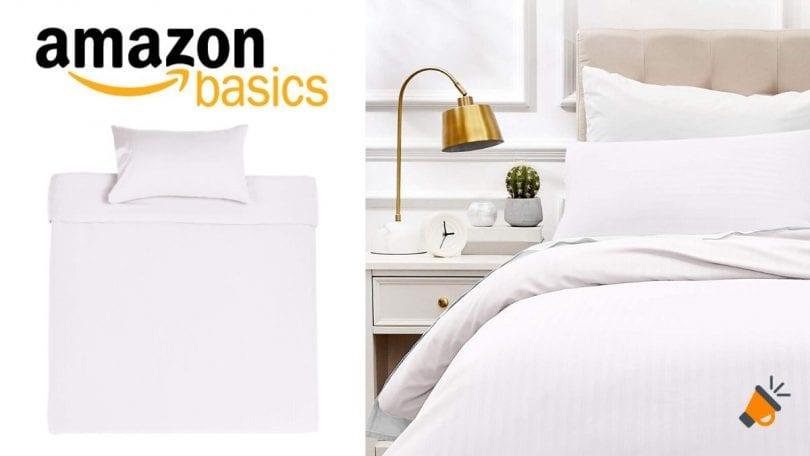 Juego de cama AmazonBasics barato 1 SuperChollos